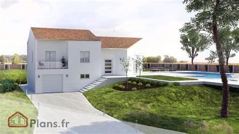 Maison Avec Sous Sol Semi Enterre by Plan De Maison Avec Sous Sol Semi Enterre