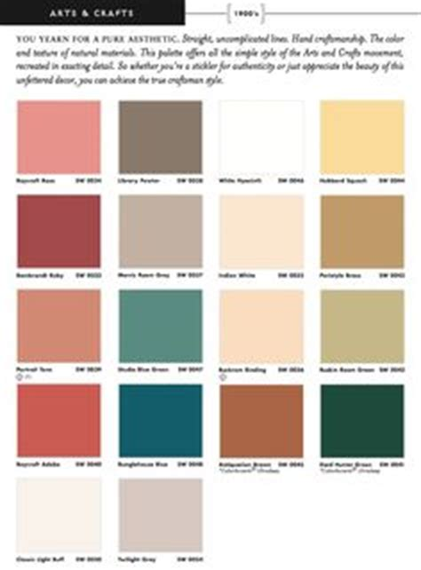 interior color palettes for arts crafts homes arts 1000 images about historic paint colors palletes on