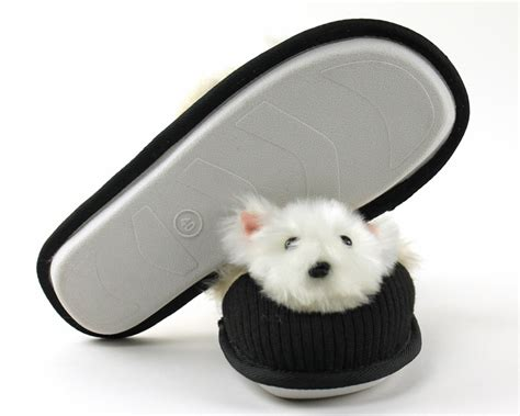 westie slippers westie slippers slippers fuzzy nation slippers