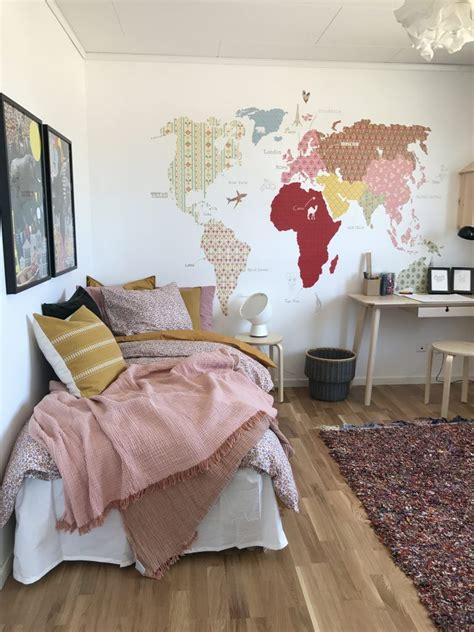 murales juveniles mujer dormitorio juvenil para chicas en rosa palo pintura mural