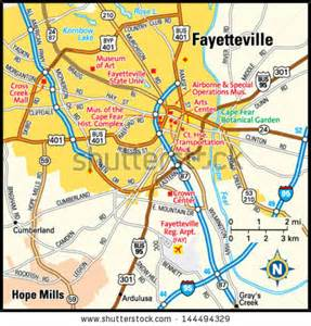 map of fayetteville carolina fayetteville stock images royalty free images vectors