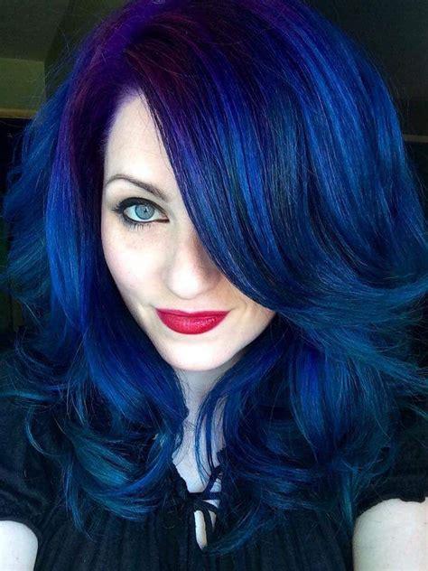 Ursula Blue by Blue Hair Ursula Goff Colored Hair Blue