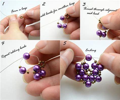 diy beaded jewelry diy tutorial earrings diy beaded earrings bead cord