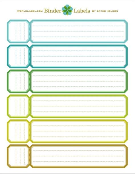 Best 25 Binder Spine Labels Ideas On Pinterest Spine Label Template