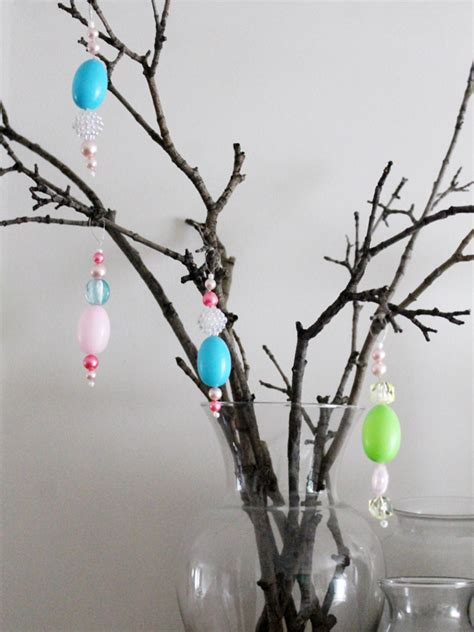 Handmade Easter Decorations - handmade easter ornaments decorations loulou downtown
