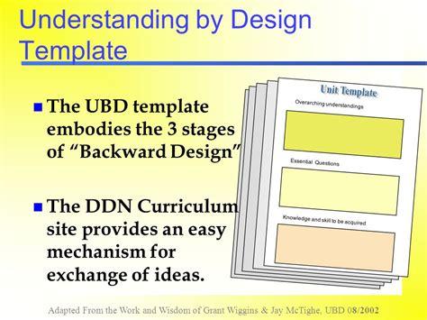 Understanding By Design Template by Understanding By Design Ppt