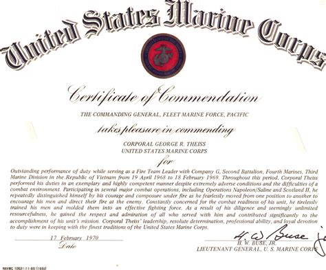 certificate of commendation template certificate of commendation template just b cause