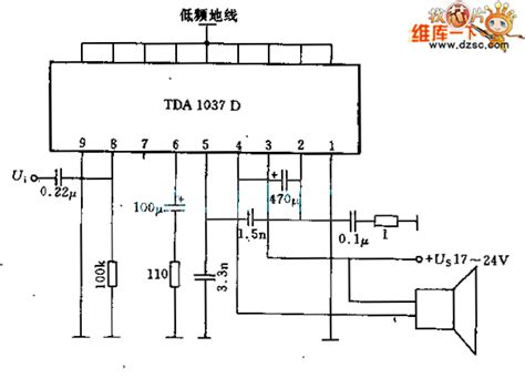 integrated circuit tester circuit diagram 5 5w lf integrated lifier circuit lifier circuits miscellaneous lifier circuit