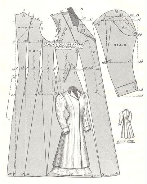 coat pattern pattern on by roberto ruiz cowl neck dress coat patterns and sheath dress