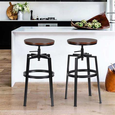sgabelli cucina in legno set 2 sgabelli bar cucina design vintage in legno e