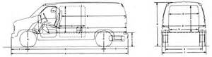 Ford Cargo Dimensions 2003 Econoline Dimensions Frame Page