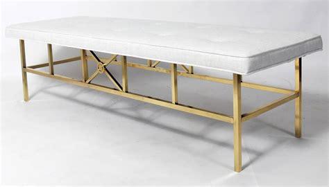 elegant bench elegant modern brass bench for sale at 1stdibs
