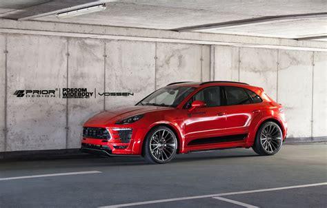 Kia Ssm Prior Design Rolls Out Menacing Porsche Macan Widebody Kit