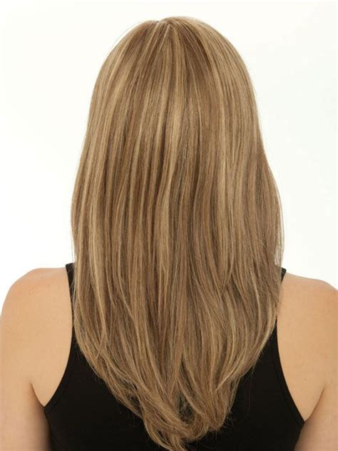 back of the hair long layers of the long hairstyles u shaped v shaped or straight