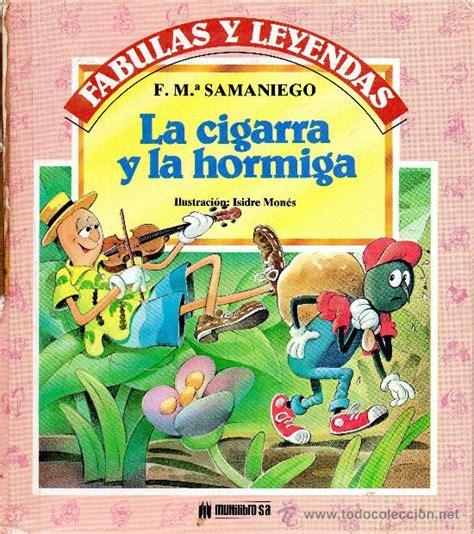libro fabula de la avista pin fabula la hormiga y cigarra on