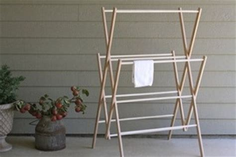 Amish Drying Rack by Medium Amish Wooden Clothes Drying Rack Clotheslines