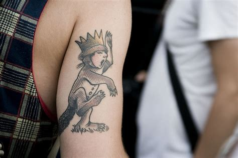 where the wild things are tattoos where the things are 7 tattoos inspired by books