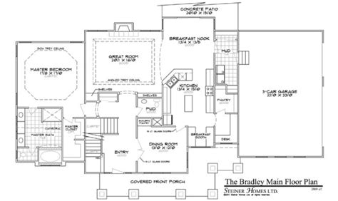 master on main floor plans 11 stunning house plans master on main house plans 70841