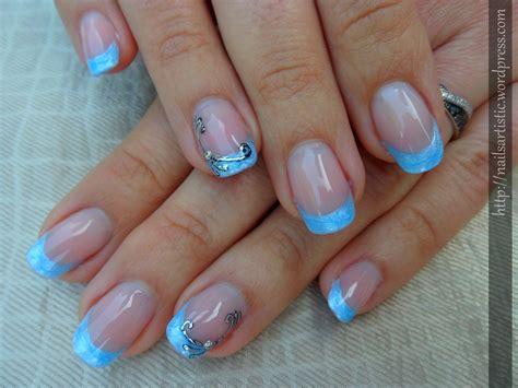 Ongle En Gel Bleu by Les Ongles De Nany De Nail Vernis Page 2