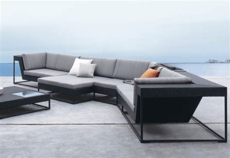 contemporary sofa chairs dedon s zofa living room and patio furniture all in one