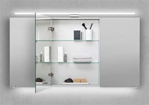 spiegelschrank 130 cm spiegelschrank 130 cm led beleuchtung doppelt verspiegelt