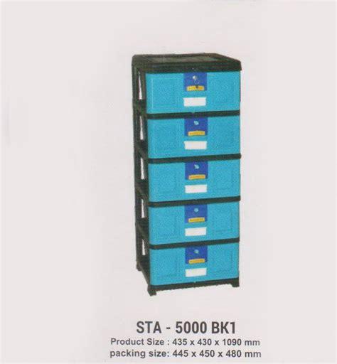Lemari Plastik 200 Ribuan jual lemari plastik napolly sta 5000 bk1 harga murah