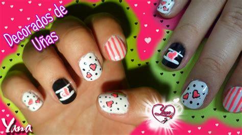 imagenes de uñas decoradas de amor y amistad decorados de u 241 as amor y amistad corazones y puntos