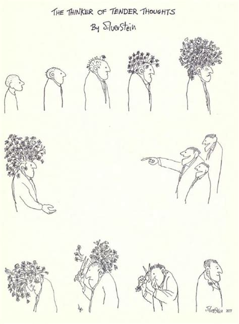 the thinker of tender thoughts by shel silverstein write