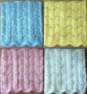 Handmade Knits - new handmade knit crochet baby afghan blanket infant throw
