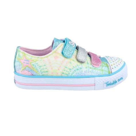 skechers light up sneakers for toddlers skechers 10383l twinkle toes shuffles peace n