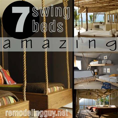 how to make a bed swing 7 amazing swing beds or bed swings