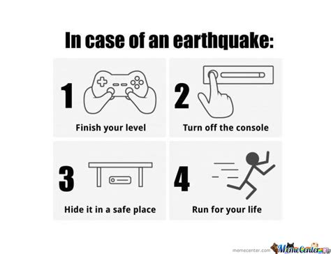 Earthquake Meme - in case of an earthquake by bakhti jutt meme center