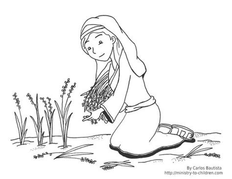 Click Here To Download This Ruth Coloring Page Sunday Ruth Coloring Pages