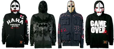 Jaket Anak Hoodie Zipper Batman Lve cool stuff marc ecko s batman friday the 13th and saw hoodies