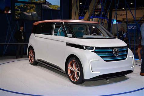 Volkswagen 2019 Electric by 2018 2019 Volkswagen Budd E Concept Electric Minivan