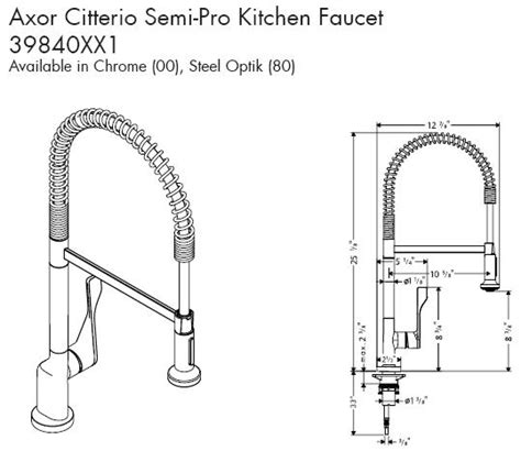 axor citterio kitchen faucet universal ceramic tiles new york kitchens