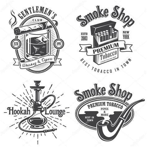 imagenes vintage tabaco sistema de cosecha tabaco fumar emblemas archivo