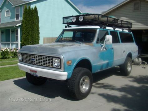 bob sellers gmc 1972 chevrolet suburban because your project cars are