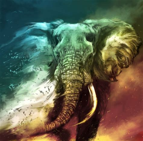 abstract elephant wallpaper a fading elephant photography abstract background