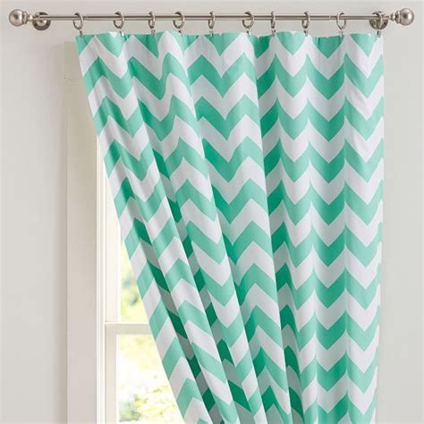 pottery barn chevron curtains chevron drape with blackout lining 52x63 pink magenta