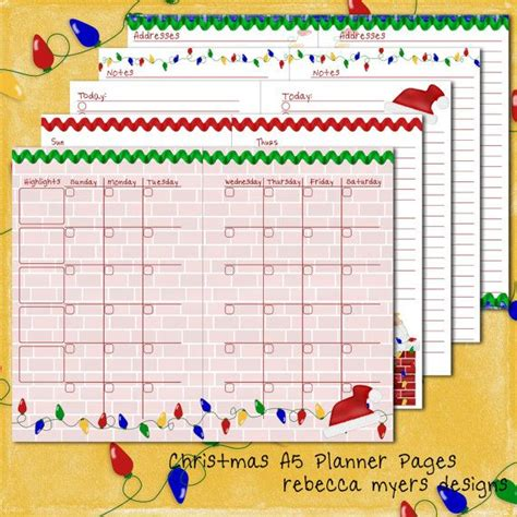4 Best Images Of Compact Size Planner Printables Franklin Covey Printable Planner Pages Franklin Covey Planner Pages Template