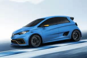Renault Zoe Renault Zoe E Sport Concept 62mph In 3 2 Seconds Diesel