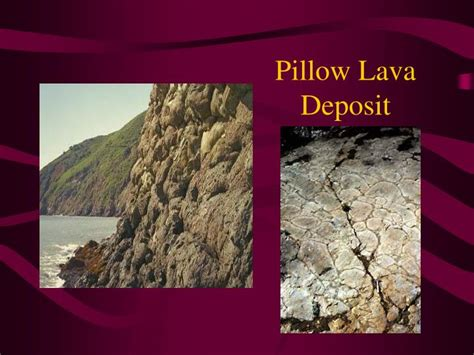 How Is Pillow Lava Formed by Ppt Volcanoes Powerpoint Presentation Id 4470981