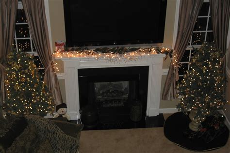 How To Hang A Garland On Fireplace by Someone Wants To Can You Leave Garland On The Mantel