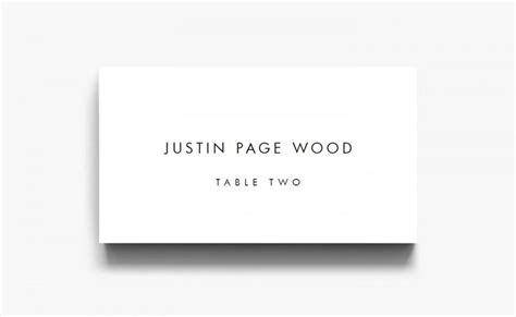 name card template name cards for wedding table cards
