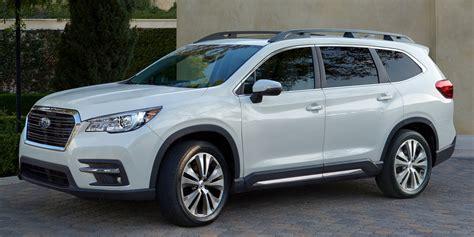 2019 Subaru Vehicles by 2019 Subaru Ascent Vehicles On Display Chicago