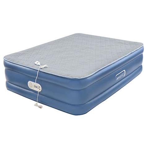 air mattresses aerobed quilted foam topper air mattress 691043172573 ebay