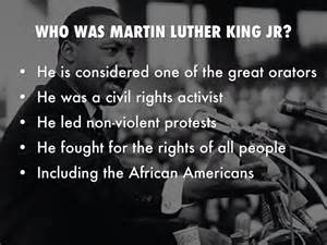 Martin Luther King Jr By Aleisha Taylor Martin Luther King Presentation