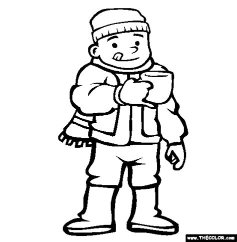 eggnog coloring page christmas online coloring pages page 1