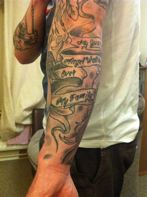 filler tattoos could any of this do with re working b g sleeve big
